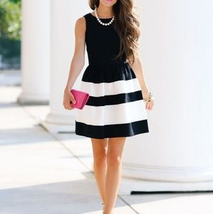 almost new fit & flare dress